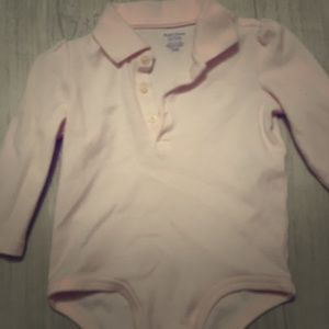 Ralph Lauren one piece baby girl onesie